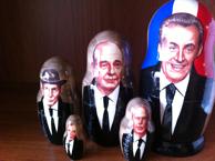 poupee russe des presidents francais