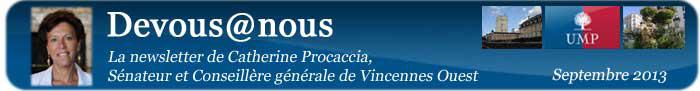 Bannière logo newsletter septembre 2013